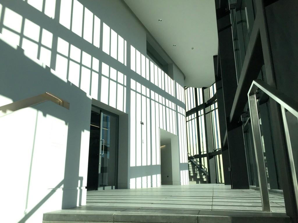 Light inside the Pontio Centre
