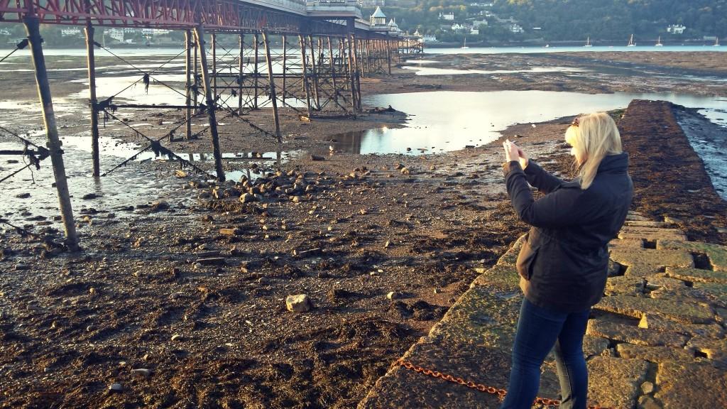 Judi taking a photo